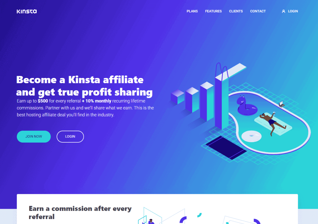 Kinsta-Best Affiliate Programs For Bloggers