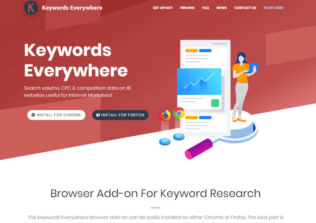 Free Best Keyword Research Tools: Keywords Everywhere