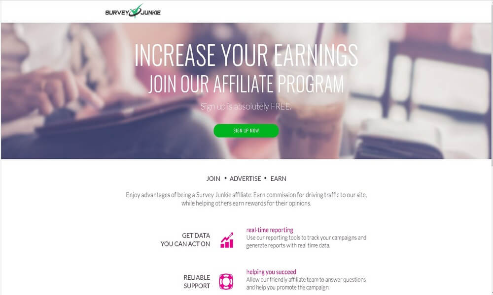 Survey Junkie- Best Affiliate Programs For Bloggers