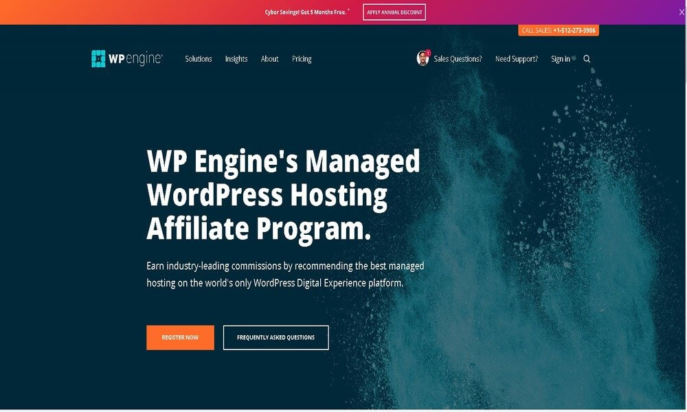 WP Engine- Best Affiliate Programs For Bloggers