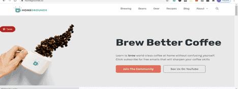 Successful Affiliate website