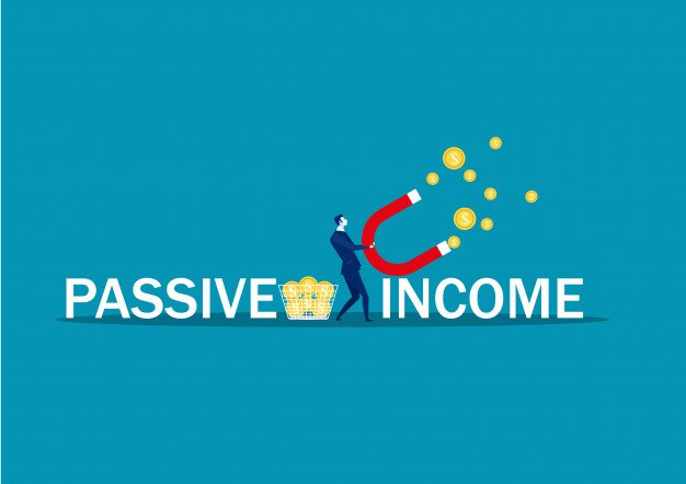 compounded wealth building using passives